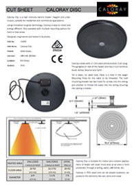 download product Cut Sheet